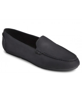 Driver Moc Slip On Leather Womens