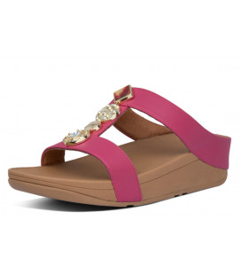 Fino Circle H-Bar Slides Womens