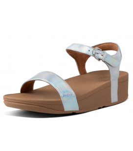 Laura Iridescent Scale Back-Strap Sandals Womens