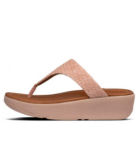 Imogen Basket Weave Toe-Thongs Womens
