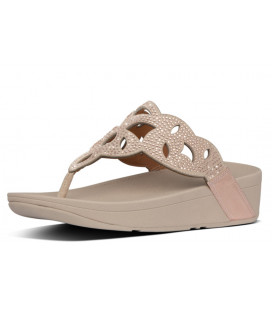 Elora Crystal Toe-Thongs Womens